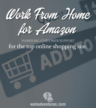 Work from home for Amazon.com