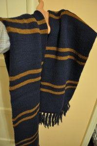 Ravenclaw scarf pattern