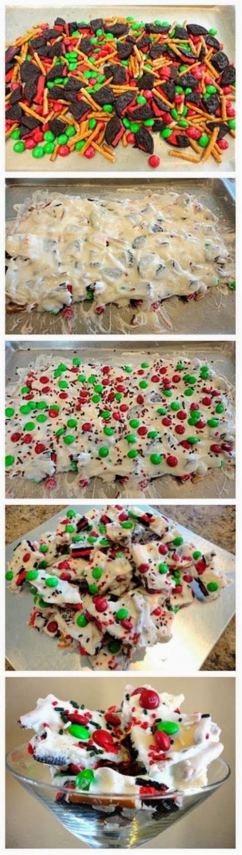 Christmas Cookie Bark Recipe