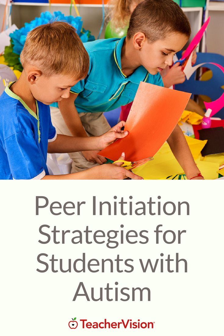 Peer Initiation Strategies for Students with Autism (Grades PreK-12): With these strategies, peers are taught how to initiate and encourage social interactions with children with autism.