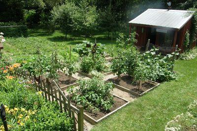 Prairie's Edge Farm: Vegetable Garden