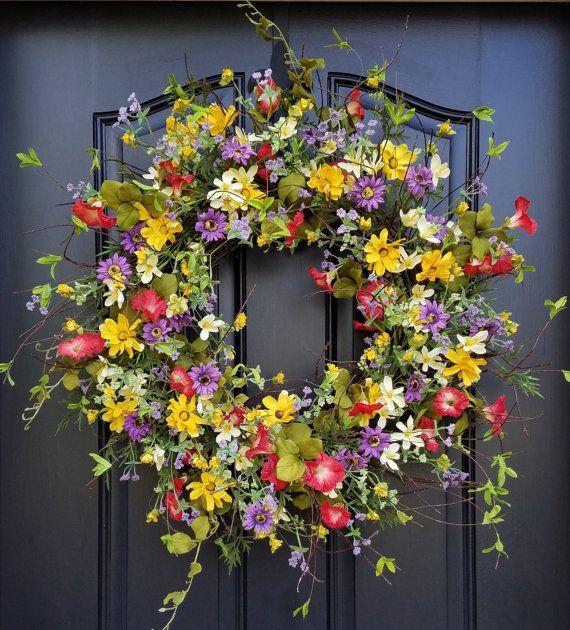 EASY DIY Hydrangea Wreath