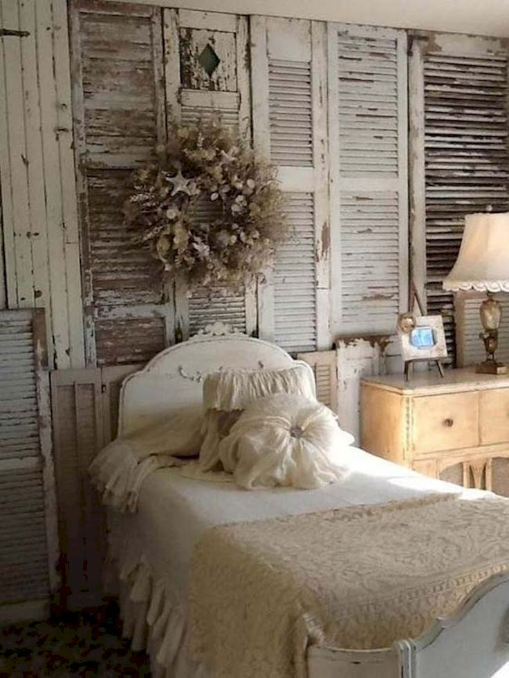 Best 10 shabby chic beds ideas on pinterest romantic country bedrooms vintage bedding and - Romantic country bedroom decorating ideas ...