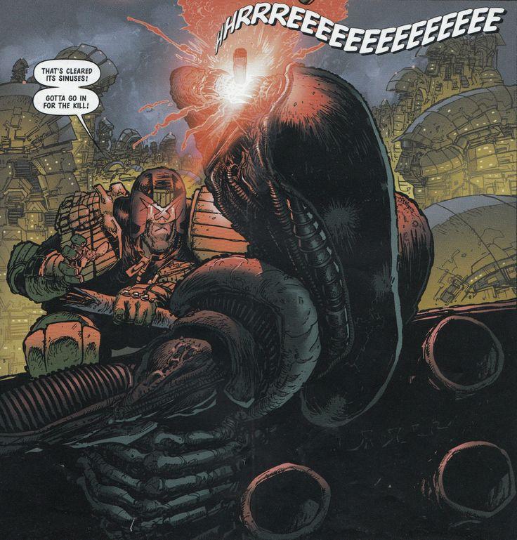 Judge Dredd vs. Aliens