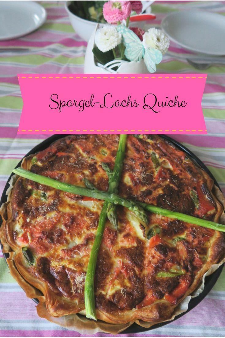 Ein einfaches, leckeres und schnelles Rezept für eine Quiche. Ideal für zum Brunch, Mittags oder Abends. Seht selbst und probiert es am Besten aus. Guten Appetit.