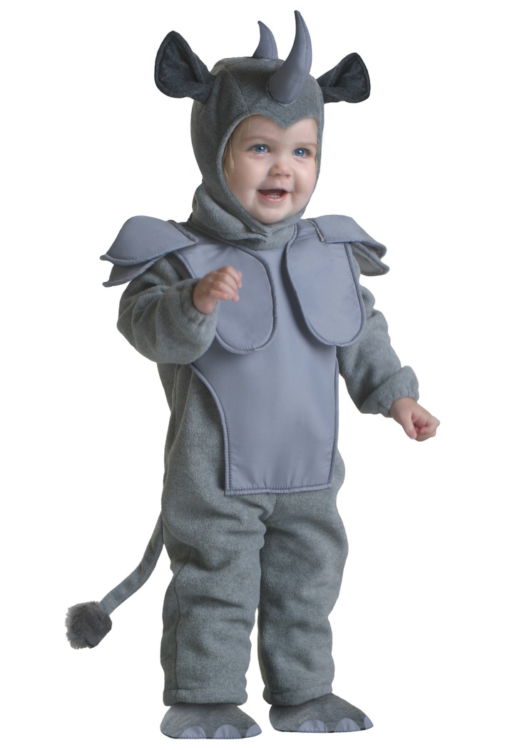 Toddler Rhino Costume No longer in stock, but we need a PINK one anyway. Pinned for inspiration.