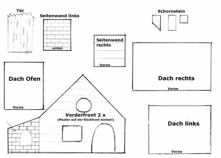 10 ideen zu lebkuchenhaus vorlage auf pinterest lebkuchenh user. Black Bedroom Furniture Sets. Home Design Ideas