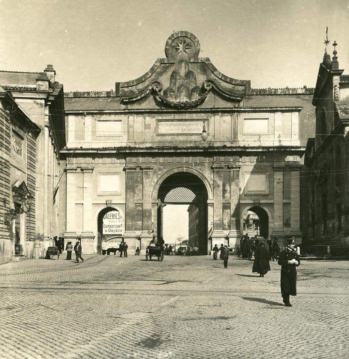Porta del Popolo Uear 1900