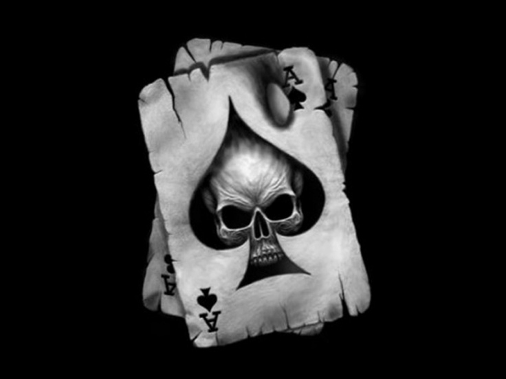 scary ace of spades fo...