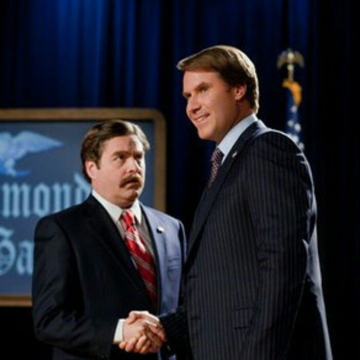 "Zach Galifianakis and Will Ferrell in ""The Campaign"""