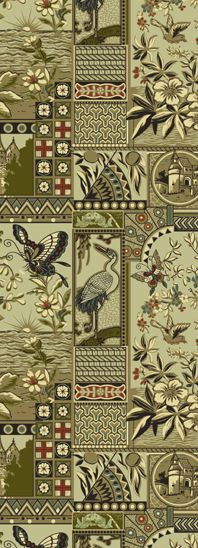 Austin House - Historic Wallpapers - Victorian Arts - Victorial Crafts - Aesthetic Movement