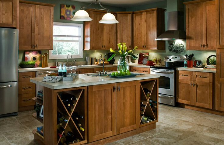 Hargrove Cinnamon kitchen cabinets  Home Depot  kitchen & dining