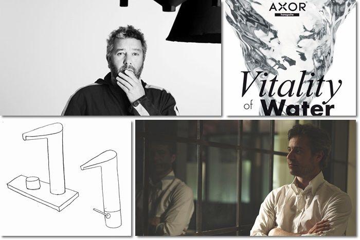 Axor V Stark Hansgrohe   Anteprima Salone del Bagno 2014 #SaloneBagno #iSaloni #Salonedelmobile2014 #bathroom