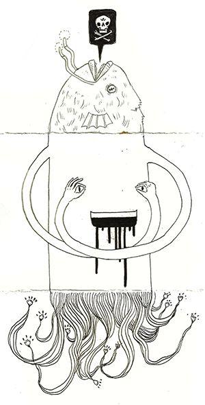 The Art of Visual Thinking  http://artofvisualthinking.blogspot.com/2012/11/exquisite-corpse.html