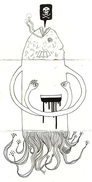 exquisite corpse writing activity 2nd