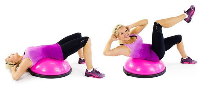 Best 25 Bicycle Crunches Ideas On Pinterest Push Up