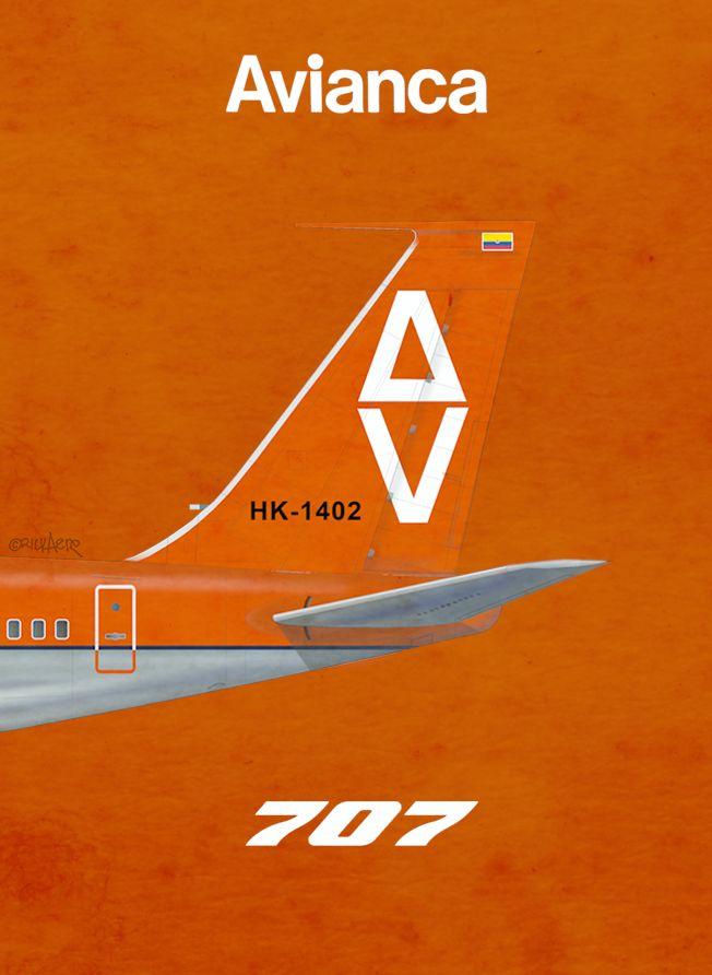 Avianca Colombia 707