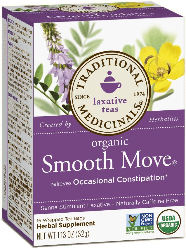 Smooth Move® - Traditional Medicinals: A great alternative especially if you suffer with gluten issues