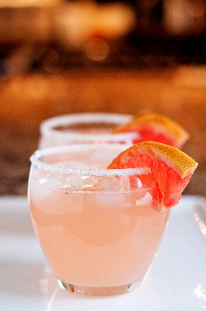 The Paloma - A refreshing cocktail with grapefruit and tequila.