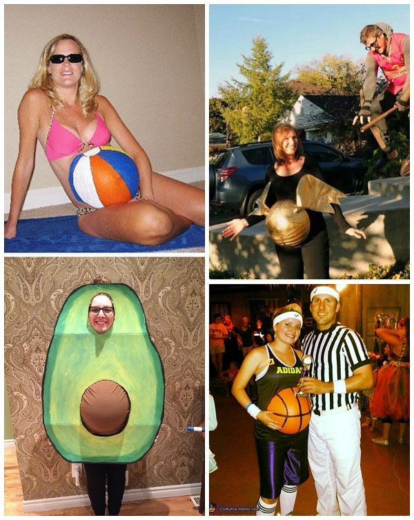 Clever Pregnant Halloween Costume Ideas - Crafty Morning ...