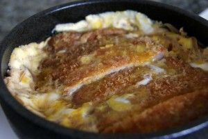 Katsudon recipe - pretty easy to make. I thought it would be harder. But it was quite authentic.