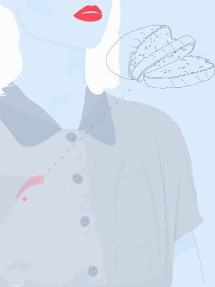Make-up Flecken aus Kleidung entfernen: 8 ultimative Tipps ✓ Schnell & einfach ✓ Die besten Hausmittel ✓ Für helle & dunkle Kleidung ✓ – Alle Infos hier »