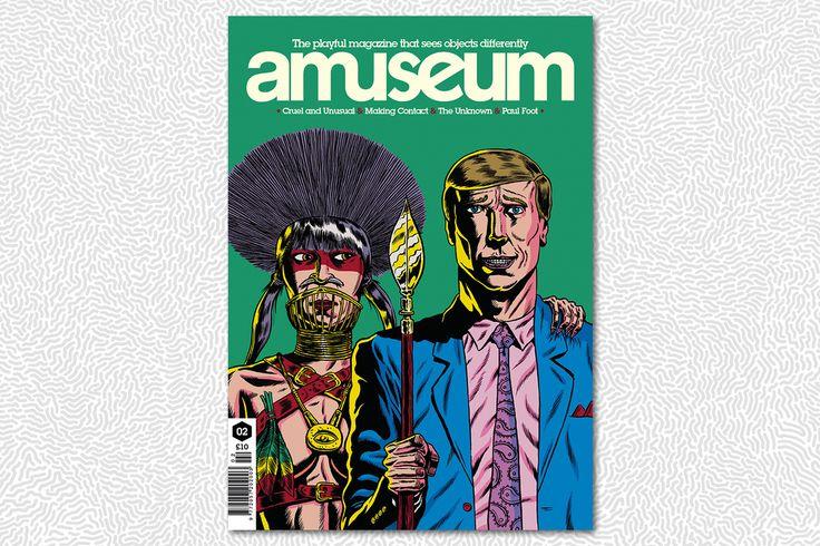 amuseum #2 (l'illustrazione di copertina è di Benjamin Marra)