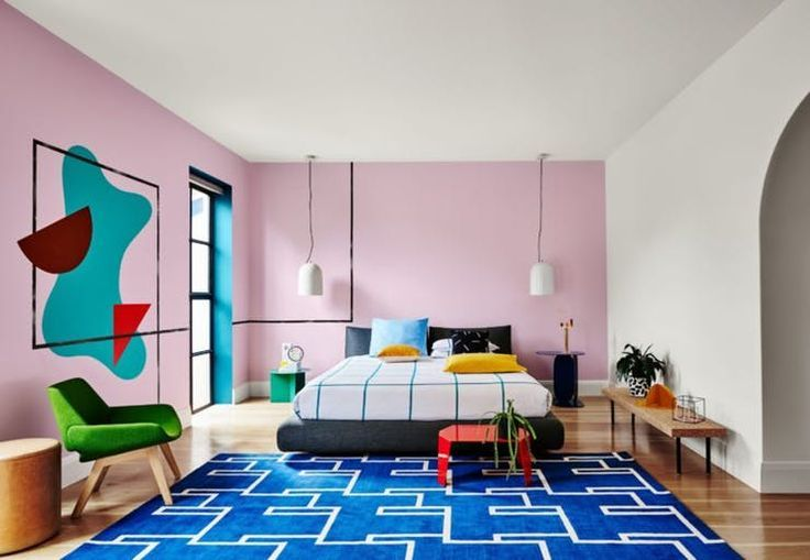 These Two 80s Motifs Are Making A Serious Comeback In 2019 Bedroom Paint Colors Home