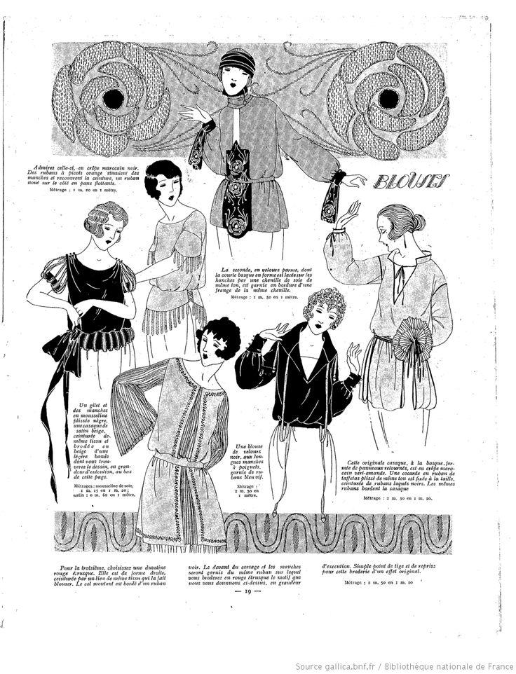Les Modes de la femme de France 1921/12/11
