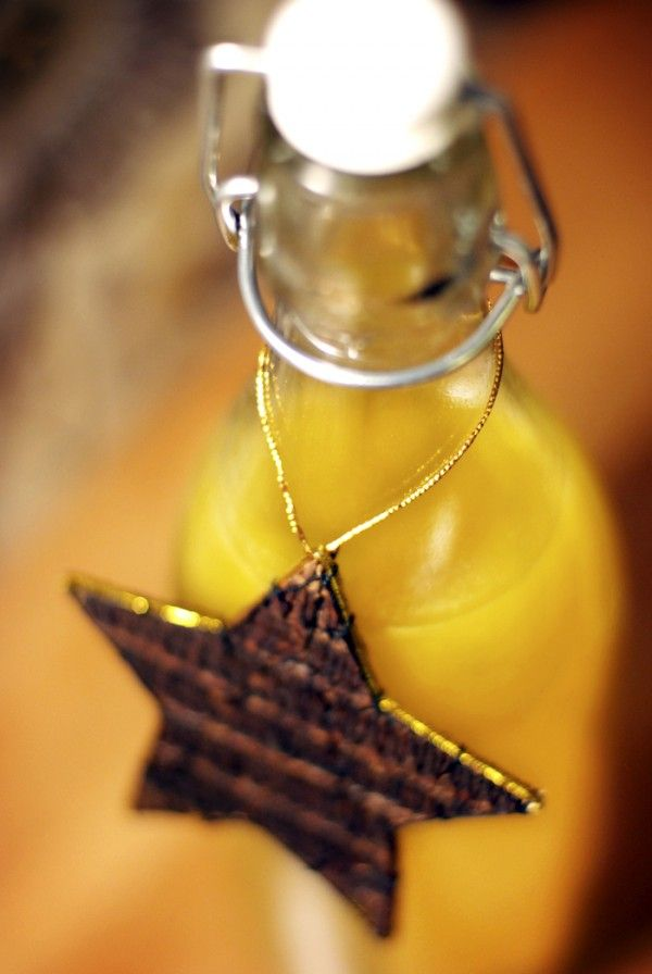 Apelsinsaft. A treat to give away for christmas