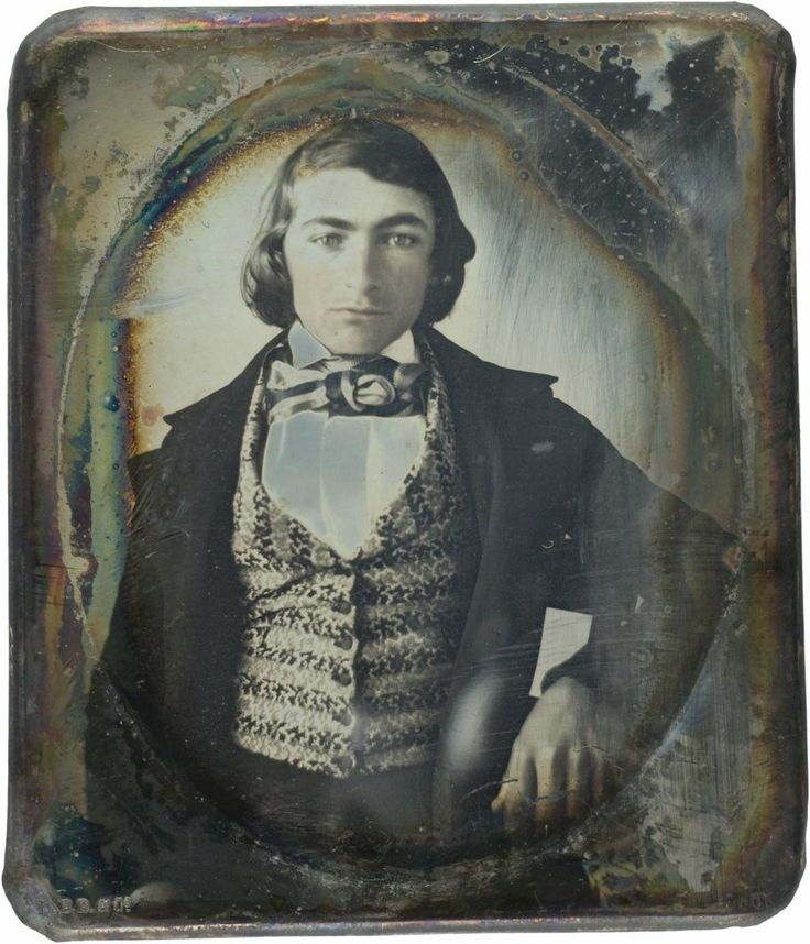 6th Plate Daguerreotype RARE 1841 with Documentation Serious Collector Item | eBay