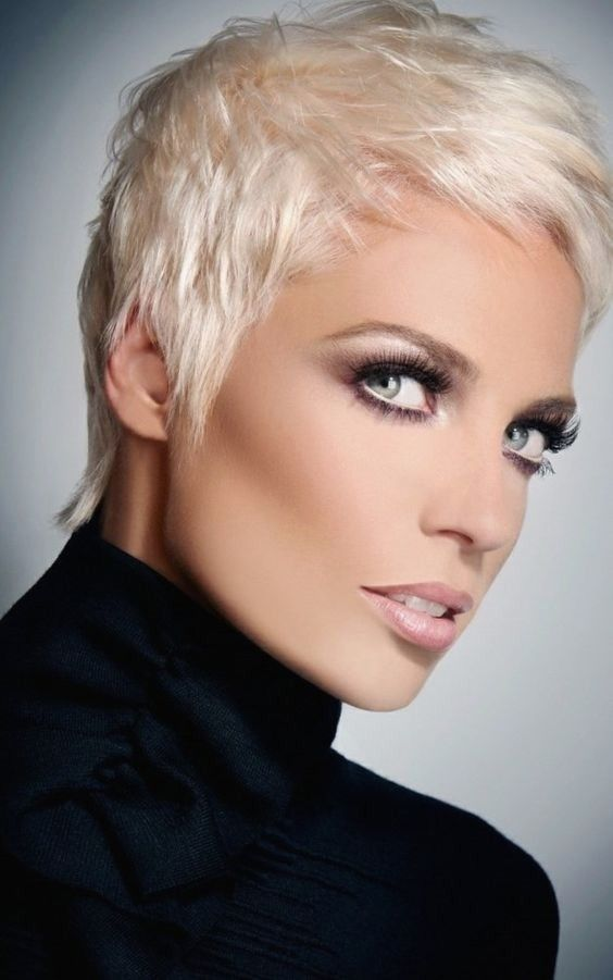 Frisuren Kurzhaar Blond Hairstyles Pinterest Hair Styles