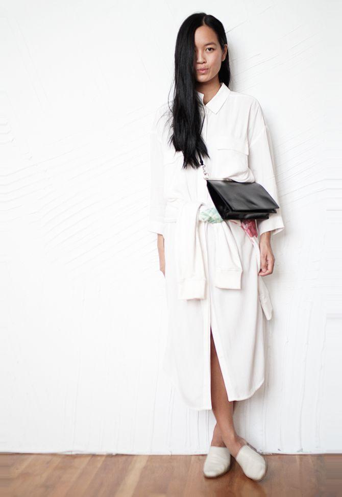 Maria Van Nguyen's minimal looks