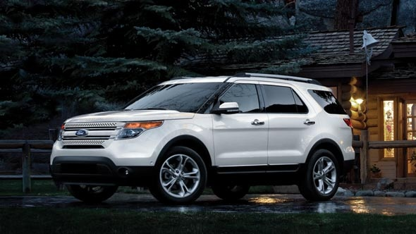Tracy Loves her new 2012 Ford Explorer. Remote start, power lift-gate, My Touch...awesome.