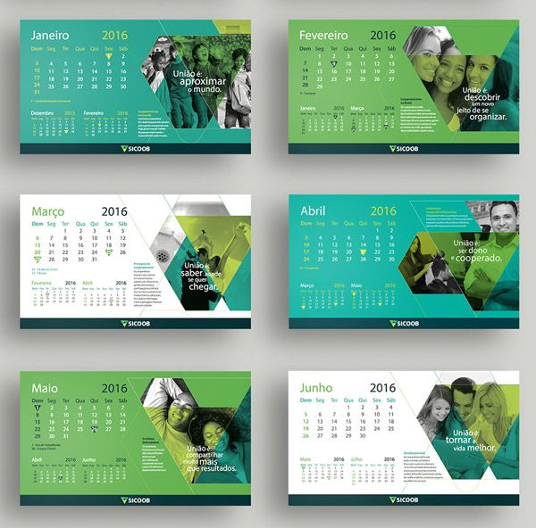 17 Best images about Calendar Designs on Pinterest | Design, New ...