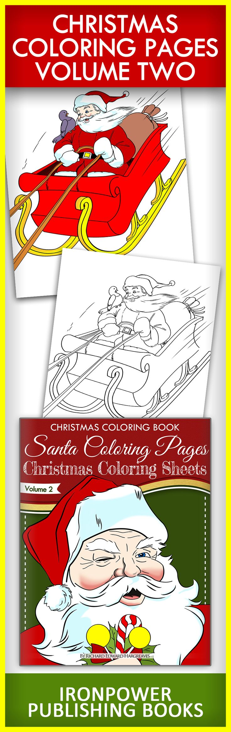 59 best christmas free coloring pages images on pinterest