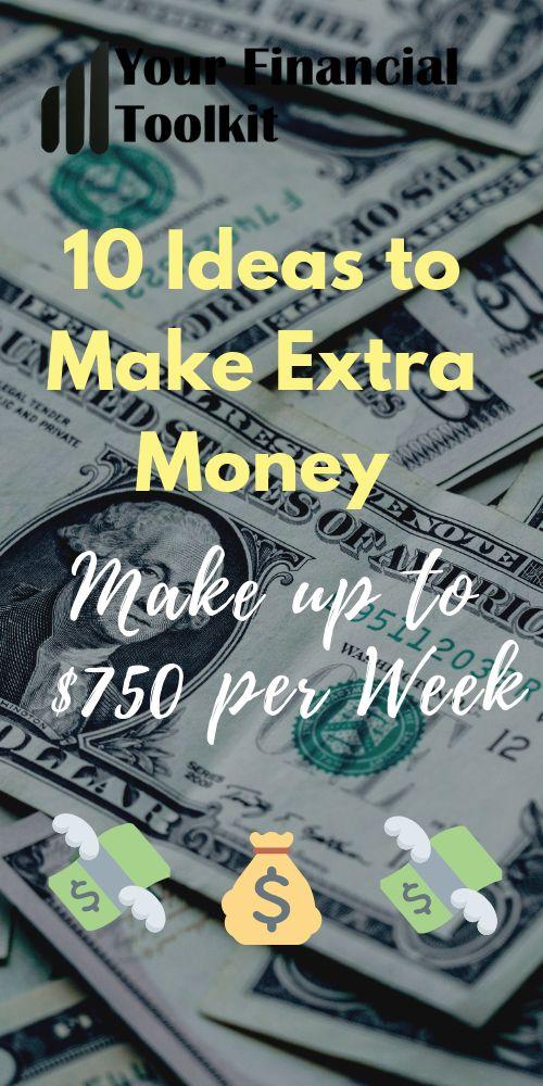 10 Ideas to Make Extra Money