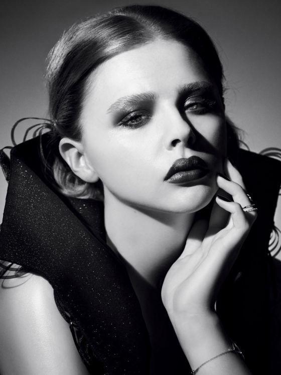 Chloe Grace Moretz para Glamour www.monsieurbabette.com