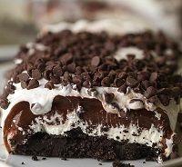 Čokoládové lazane