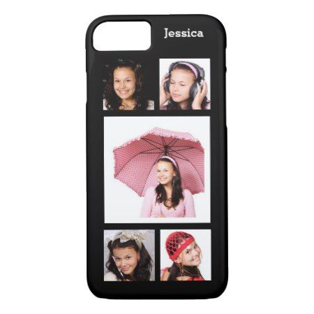 Make Your Own Instagram Photo Collage iPhone 7 Case - tap, personalize, buy right now!