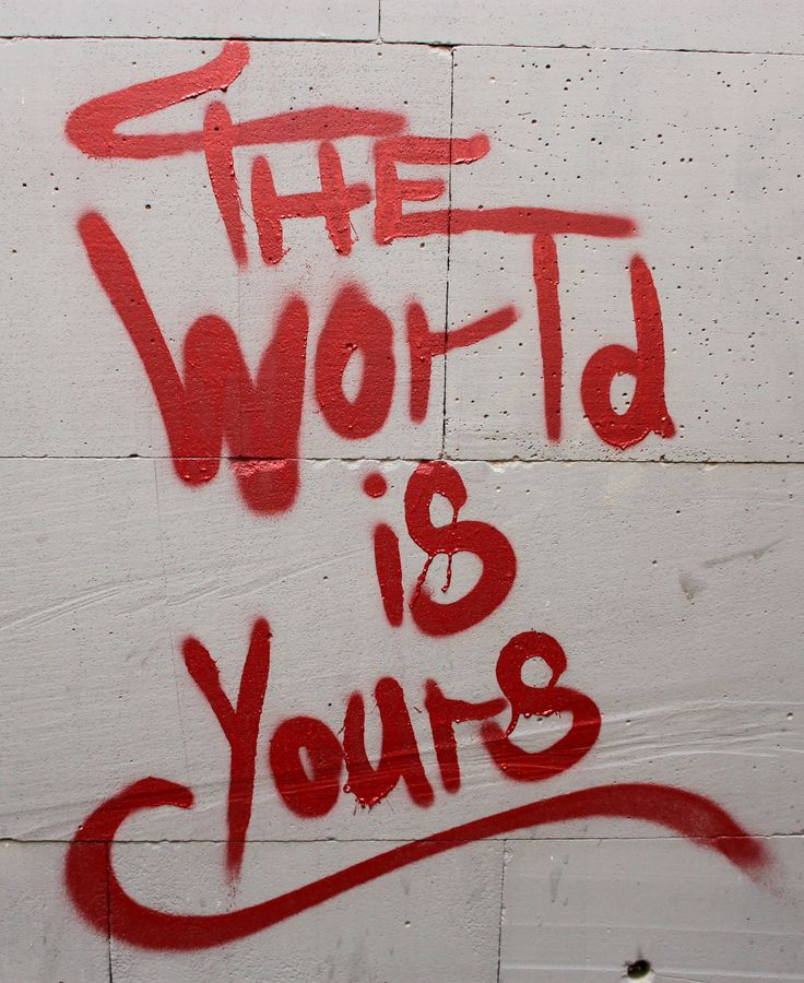 The World is Yours #Tbilisi Street Art