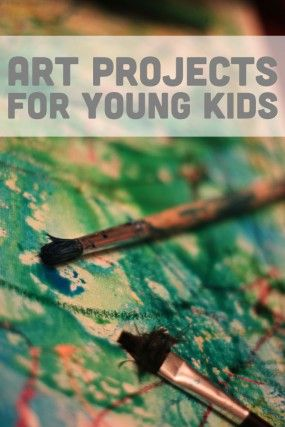 Lots of creative and fun art projects for kids to make!