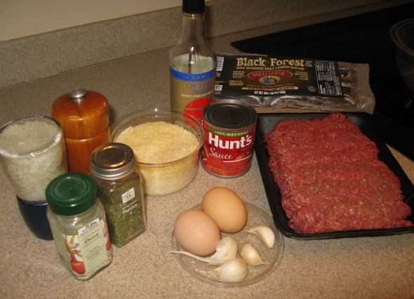 Luscious and Low-Carb: Meatloaf use Romano cheese instead of bread crumbs