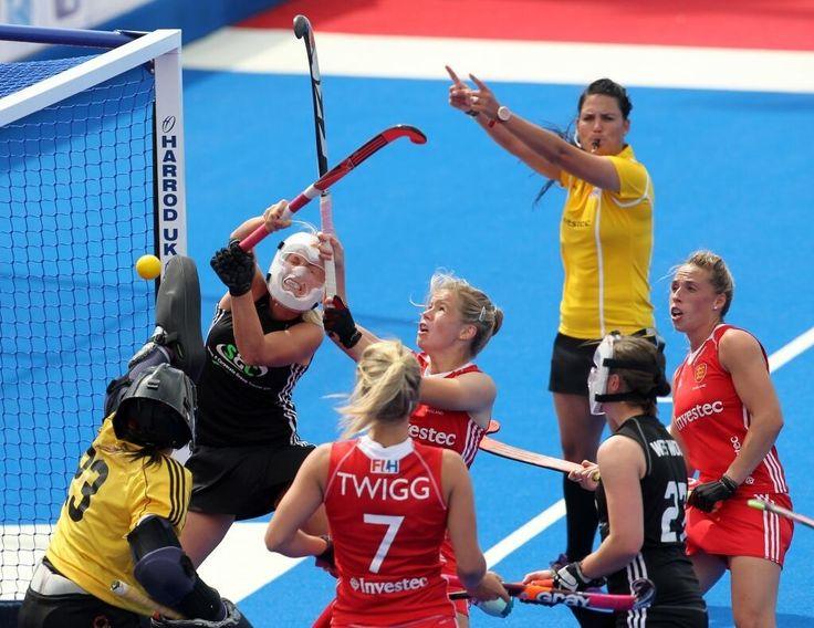 ✨ Hockey FTW ✨ — Sophie Bray scores against NZ