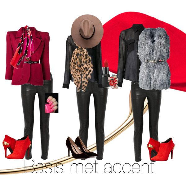 """""""basis met accent"""" by antoinette-styling on Polyvore"""