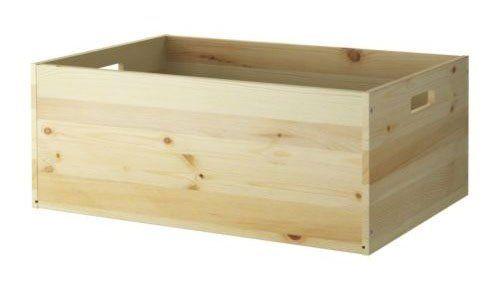 diy building block ivar pine box from ikea. Black Bedroom Furniture Sets. Home Design Ideas
