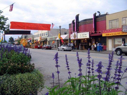 Downtown Smallville Kansas