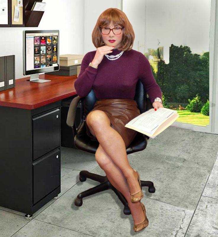 Pin On TV/CD Office Girl