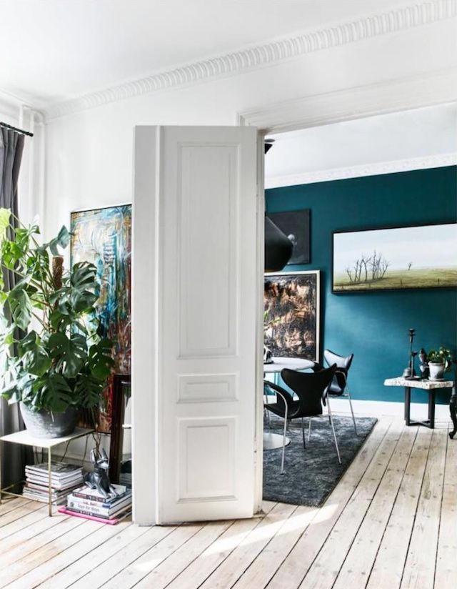 Raw and Luxurious : A Copenhagen flat - via FrenchByDesign
