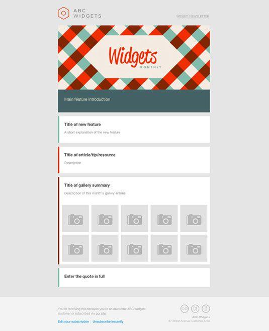 Přes 1000 nápadů na téma Free Email Newsletter Templates na - free newsletter layout templates